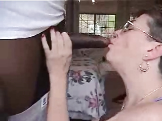 My pervert mature wife has fun with a black bull. Amateur