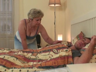 Zonker avid mother-in-law seduces him