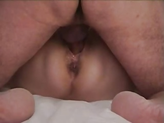 Granny Orgasm Contractions Creampie