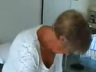 White granny fucked by black man and husband