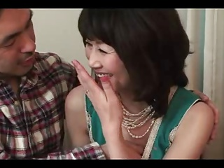 51yr old Granny Sumika Natori is a Horny Nympho (Uncensored)