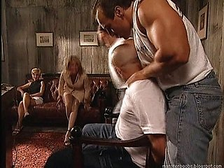 Milly D'Abbraccio - Avocate fucked by two guy