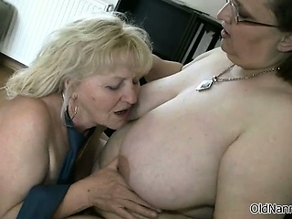 Two gorgeous lesbians mature gets horny part2