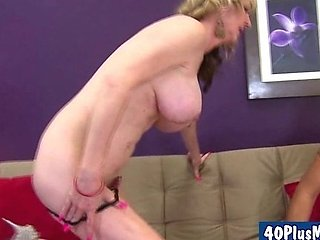 horny ex-wife screwing her new lover