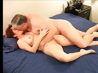 Grandma and grandpa make love