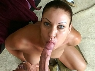Lascivious milf oral sex