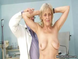Mature grandma gets her tight part2