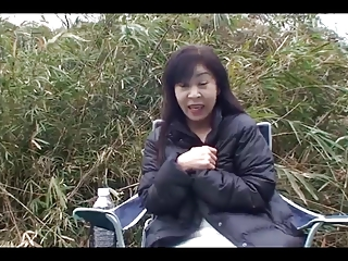 50yr old Granny Satoko Tabata Creampied (Uncensored)