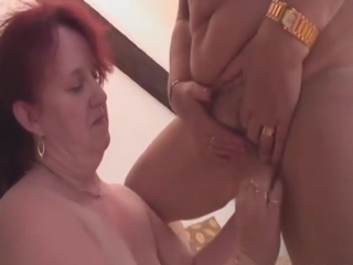 Greyhaired  Lesbians Get Off with Xxx Toys