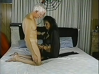 Mature woman and old man go crazy